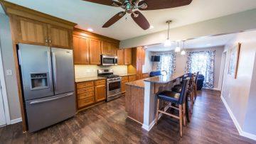 Custom built kitchen island | NYC Professional Millwork