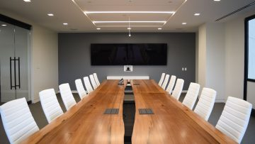 Conference tables: why such furniture item directly affects a company's image?