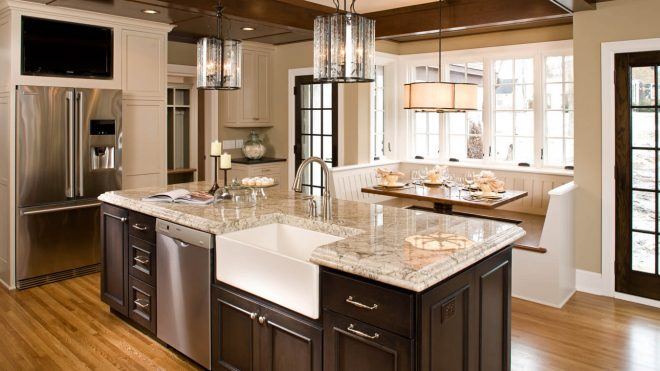 A kitchen is much more than just a place for cooking. Do not forget it!