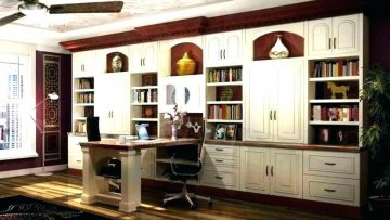 Custom furniture items selection to make a home office elegant and convenient