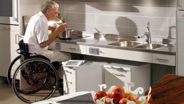 A kitchen for a disabled person planning: which aspects must be taken into account?