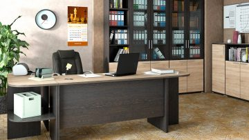 A desk as the heart and soul of every office: making the choice appropriately