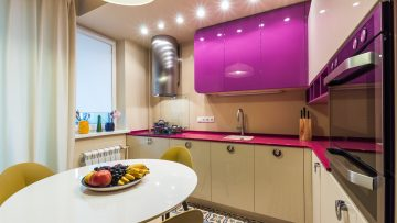 Mixing colors in a kitchen design: which recommendations must be taken into account?